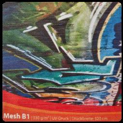 Mesh Supreme B1 - PVC Netzplane
