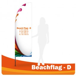 Beachflag Form D
