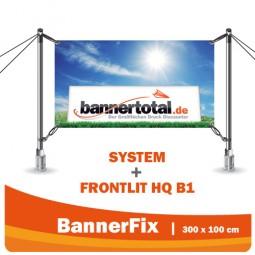 Bannerfix System 300 x 100 cm