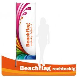 Beachflag - Fahne rechteckig