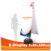 X-Display 60x180 cm Doppelseitig