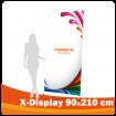 X-Display 90x210 cm XL