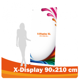 X-Display 90x210 cm XL