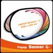 PopUp Banner -L- 258x100cm
