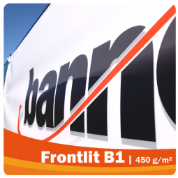 Frontlit B1 - PVC Werbeplane