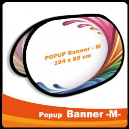 PopUp Banner -M- 194x85cm