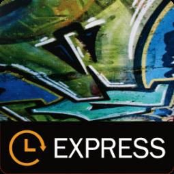 Blockout B1 - EXPRESS - beidseitig bedruckt