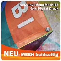 Mesh B1 beidseitig 300-330 g/m²